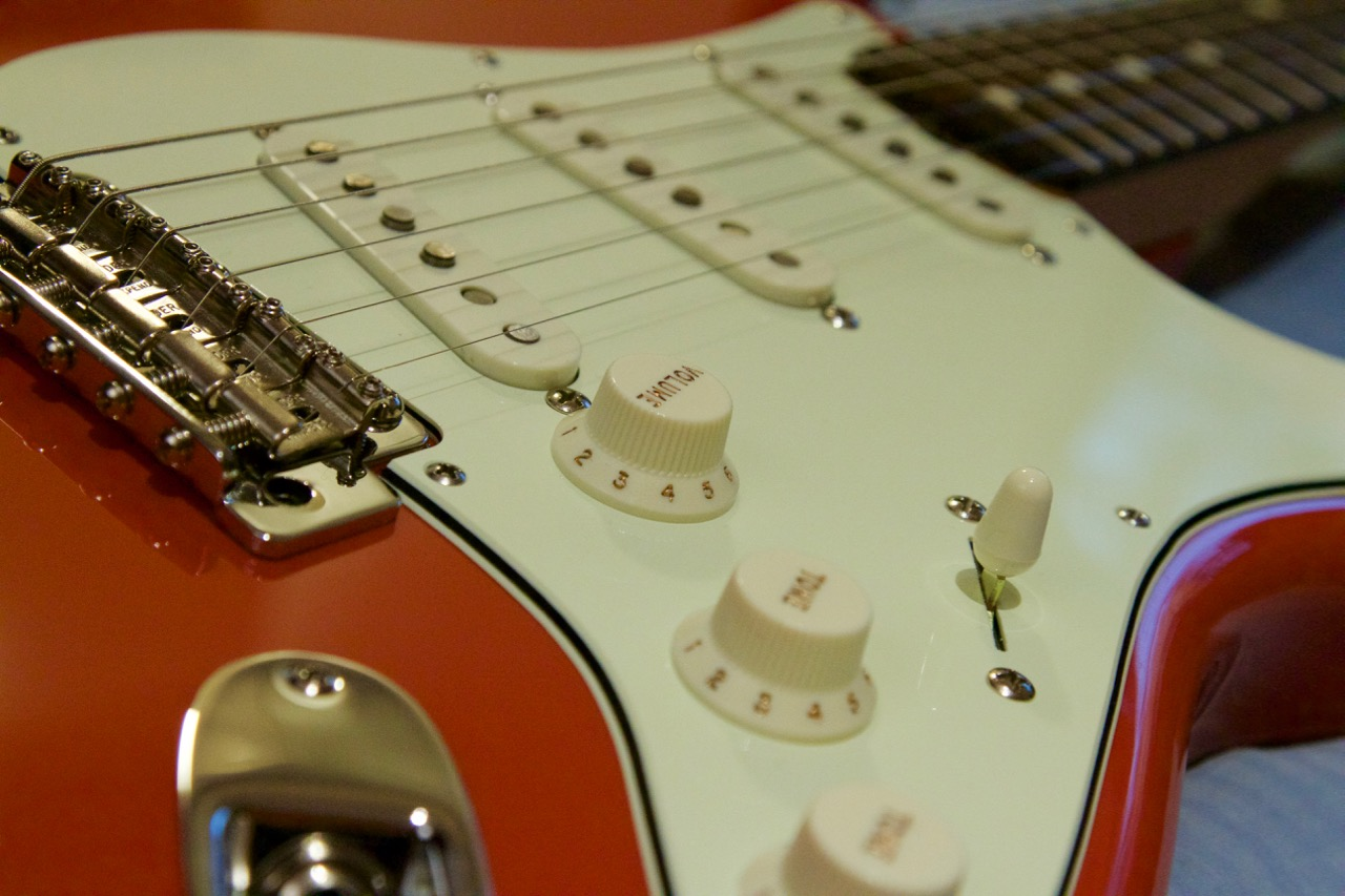 Beautiful Strat Style Guitar Small Ibanez Wiring Rectangular Dragonfire Pickups Wiring Diagram Les Paul 3 Pickup Wiring Youthful Dimarzio Color Code GrayCar Alarm Installation Instructions Fender \u201cClassic Player 1959\u201d \u2013 Part 3: Pickguard, Pickups And ..